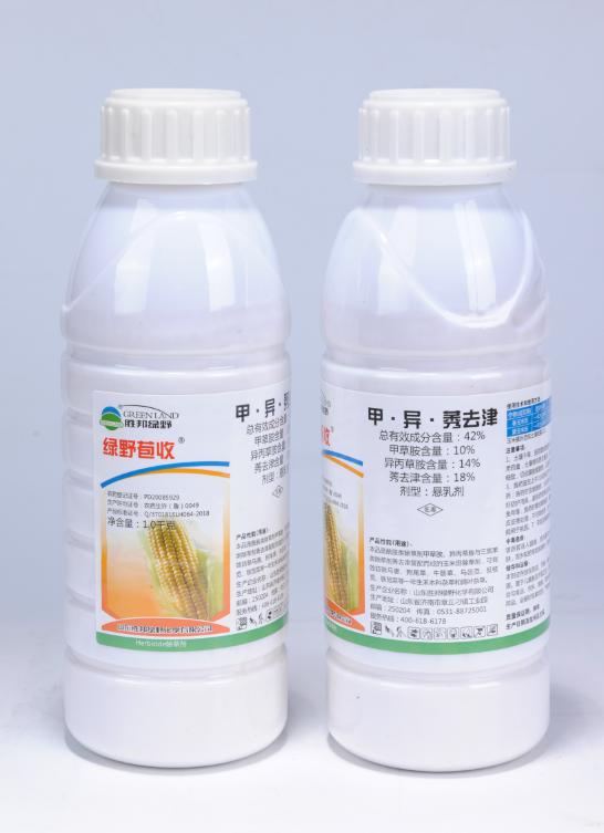 亚博电竞官网_42%甲·异·莠去津悬乳剂(绿野苞收)1